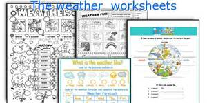 The Worksheet Teaching Worksheets The Weather