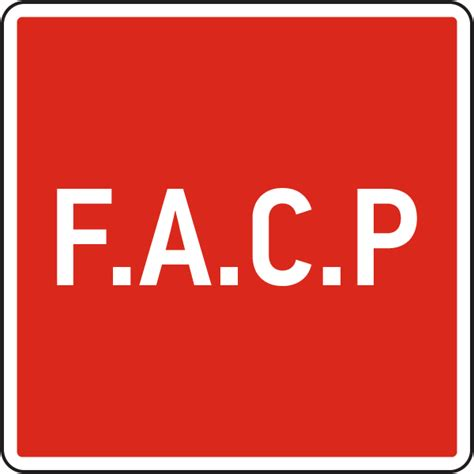 Facp Sign 25725  By Safetysignm. Spre Signs. Cirrocumulus Signs Of Stroke. Desquamative Interstitial Signs. Cholera Signs. Love Story Signs Of Stroke. Gift Signs Of Stroke. Fall Signs Of Stroke. Classification Signs