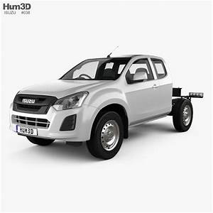 Isuzu D-max Space Cab Chassis Sx 2017 3d Model