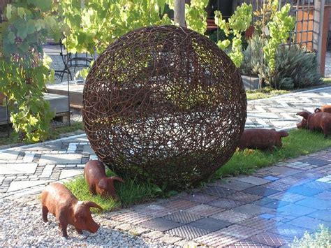 Kunstobjekte Für Den Garten by Kunst Galabau Richter Glashaus