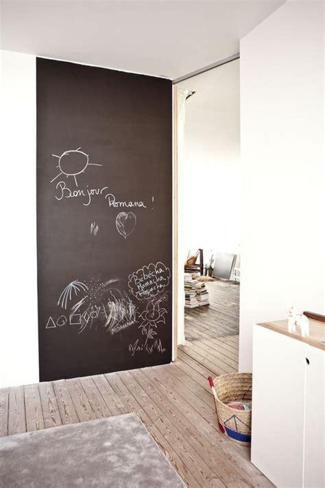 tableau noir et peinture ardoise dans une chambre d enfant picslovin