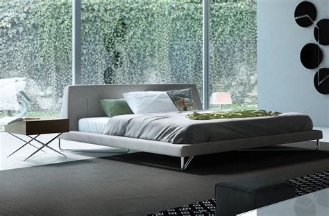 sleek bedrooms with cool clean lines