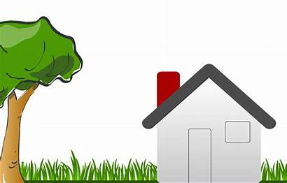 Clipart Owning Garden Tree Grass Pixabay Building