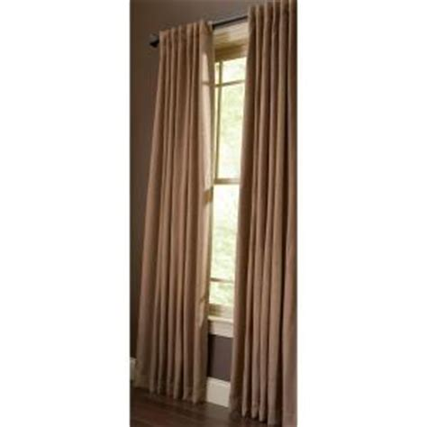 home depot martha stewart window rod pocket panels