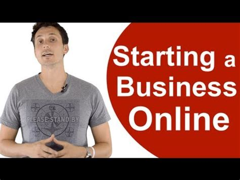Starting A Small Business Online (the 1st Step) Youtube