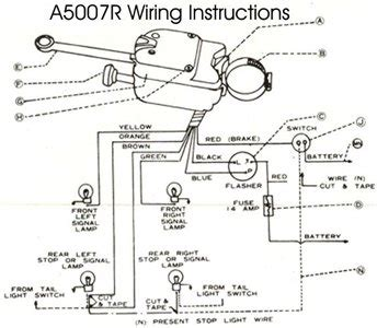 Yankee Turn Signal 730 6 Wiring Diagram by I Need A Wiring Diagram For A Yankee 730 736 Turn Solved