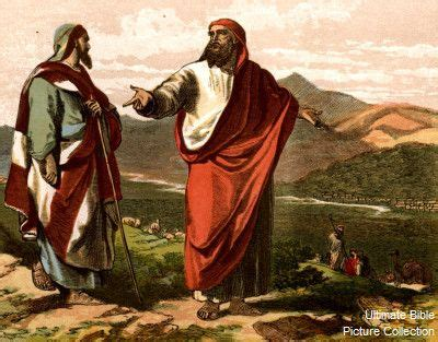 Genesis 13 Bible Pictures Abraham And Lot Divide Their