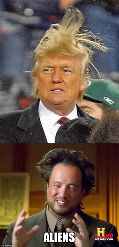 Image tagged in donald trump,donald trumph hair,ancient ...