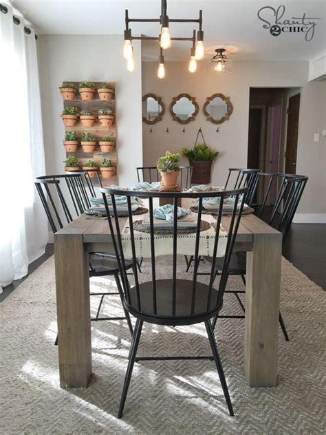 best 25 modern farmhouse table ideas on dinning table farmhouse dining tables and