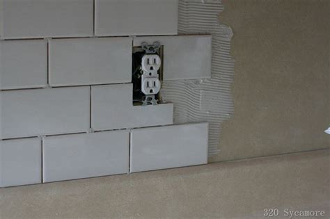 how to install a backsplash in kitchen how to install subway tile diy ideas