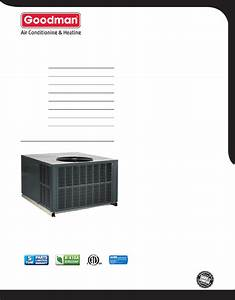 Goodman Mfg Heat Pump Gph13m User Guide