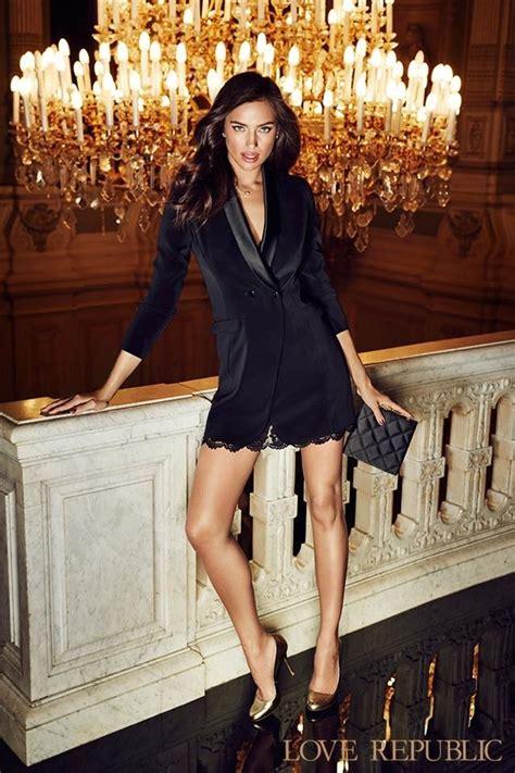 irina shayk  love rebublic fall winter  ad campaign