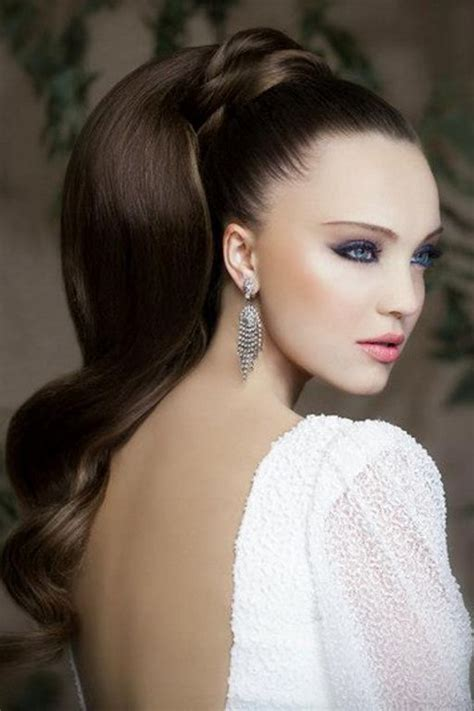 simple quick fashion    pony tail hairstyles