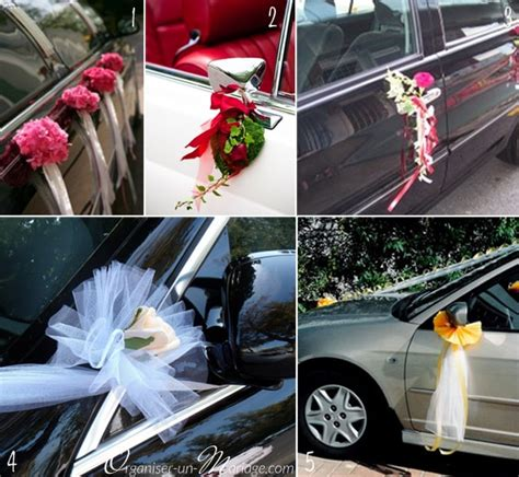 decoration voiture invit 233 mariage decormariagetrnds