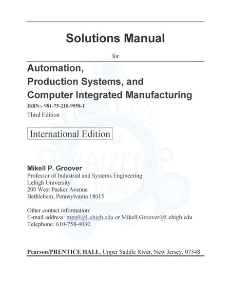 automation solution manual