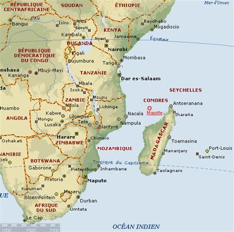 Localisation Mayotte Carte Monde by Mayotte Mayotte 238 Le Fran 231 Aise Des Comores De Voyage