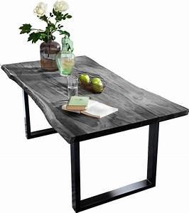 Tischplatte Mit Baumkante : sit esstisch tops tables mit tischplatte aus akazie mit baumkante online kaufen otto ~ Frokenaadalensverden.com Haus und Dekorationen