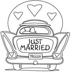 vidã o de mariage dessin voiture mariage a imprimer gratuit
