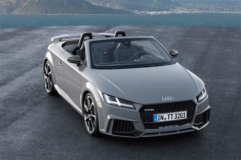 Audi Tt Rs Coupe, Convertible Charge Into Beijing With 394