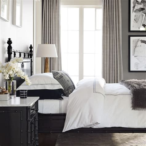 hotel style bedside ls hotel bedding williams sonoma