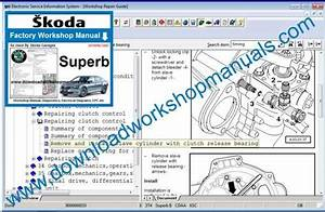 Skoda Superb Workshop Repair Manual