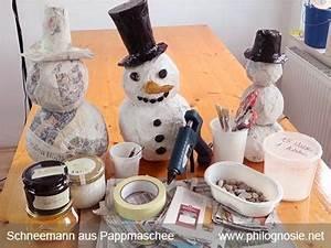 Schneemann Kostüm Selber Machen : deko figuren schneemann selber machen basteln philognosie ~ Frokenaadalensverden.com Haus und Dekorationen