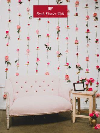dekorasi kamar tidur fresh flower diy