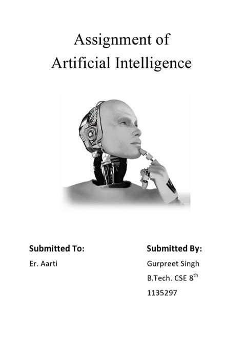Artificial Intelligence Homework Help – Artificial