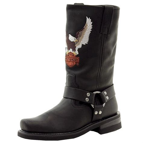 motorcycle boots harley davidson men 39 s darren leather motorcycle boots