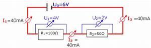 Reihenschaltung Stromstärke Berechnen : elektrische spannung ~ Themetempest.com Abrechnung