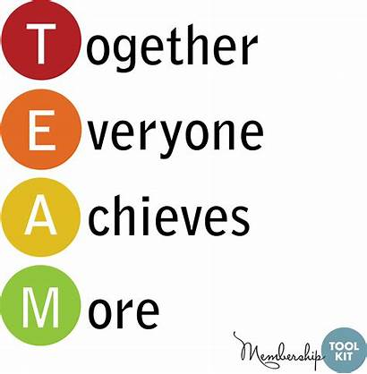 Together Team Working Clipart Quotes Teamwork Teachers