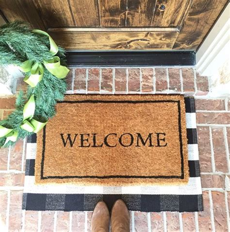 Buy Doormat by Layered Door Mats Wonderful