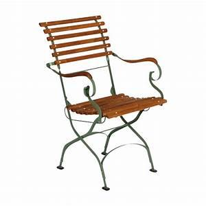 Chaise Fer Forgé Et Bois : chaise jardin bois fer ~ Dailycaller-alerts.com Idées de Décoration