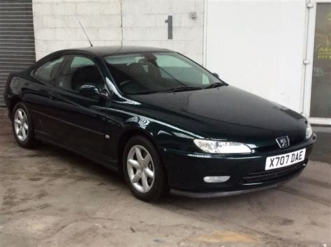 Peugeot 406 Coupe by Peugeot 406 Coupe 3 0 V6 Auto Metallic Green Black Leather
