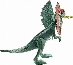 Amazon.com: Jurassic World Attack Pack Dilophosaurus: Toys ...  Dilophosaurus