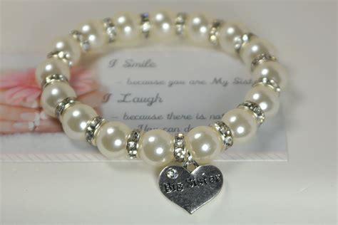 big sister bracelet bonus sister gift big sister gift