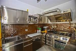 Cucina professionale electrolux in casa idea for Cucina professionale per casa