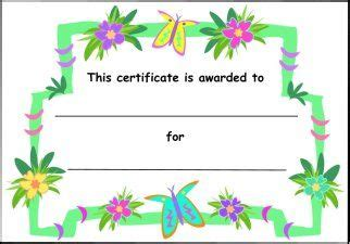 Free Printable Childrens Certificates Templates by Printable Clothes Templates For Printable