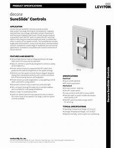 Download Free Pdf For Leviton Sureslide 6631