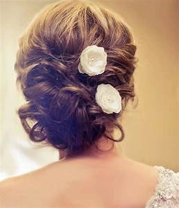 Wedding Bridal Mini Ivory Hair Flower Set Of Three With