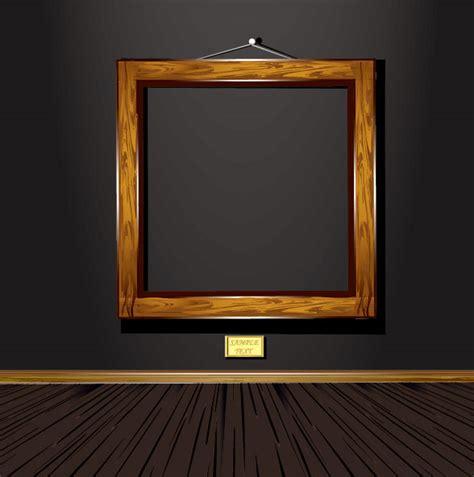 vintage wood frame  vector materialdownload