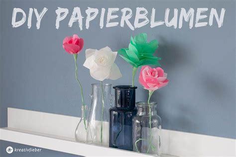 einfache papierblumen falten anleitung diy papierblumen falten einfache anleitung dekoidee