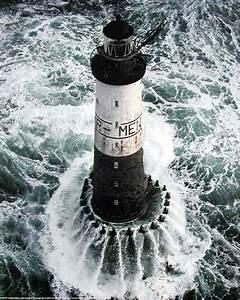 Leuchtturm Ar Men : bretagne ar men leuchtturm poster ~ Buech-reservation.com Haus und Dekorationen