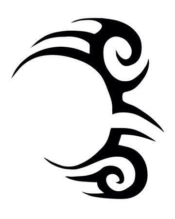 Mike Tyson tattoo stencil. | Mike tyson tattoo, Temporary tattoo, Trible tattoos