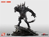 $750 Evolve Goliath Statue Weighs 35 Pounds - GameSpot