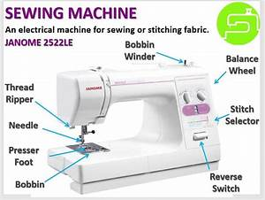 Janome Sewing Machine Diagram