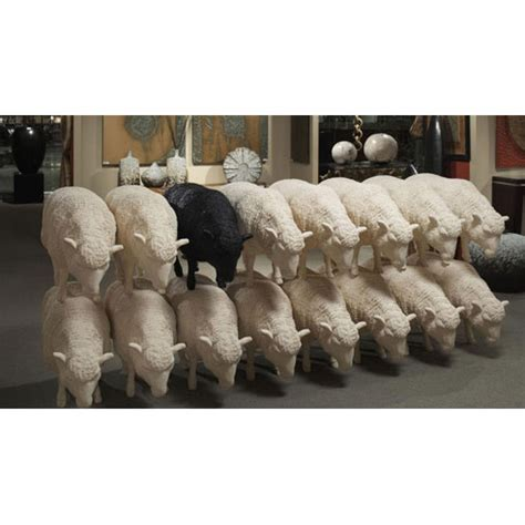 Life Size Sheep Sculpture   Phillips Collection   Digs