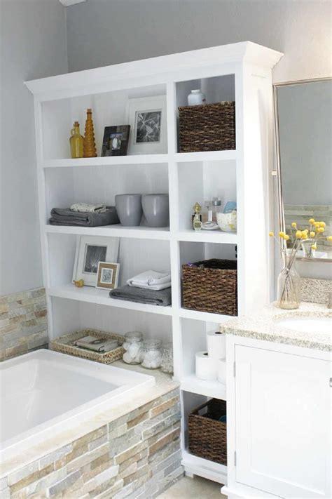 smart bathroom storage ideas   impress