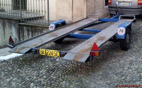 vendo carrello porta auto vendo carrello trasporto auto ellebi