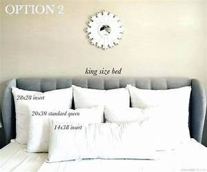 king size pillows standard queen king latex pillows With decorative pillows for king size bed